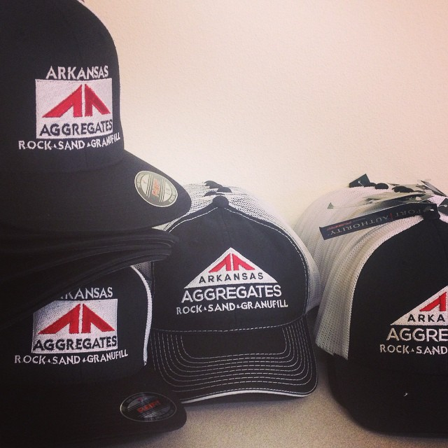 Different Styles and Logos for Arkansas Aggregates