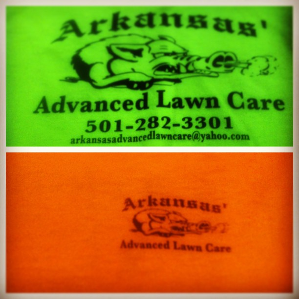 Advance Lawn Care Safety Tees