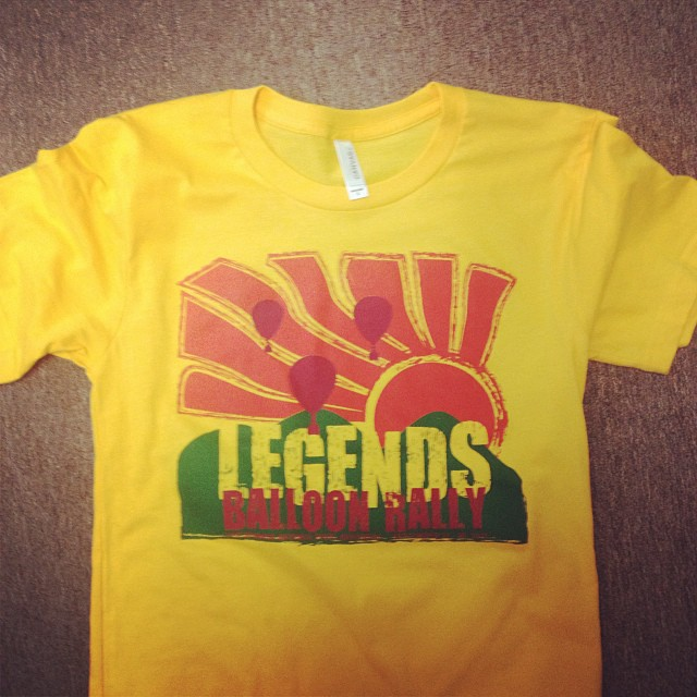 Legends Balloon Rally Shirts