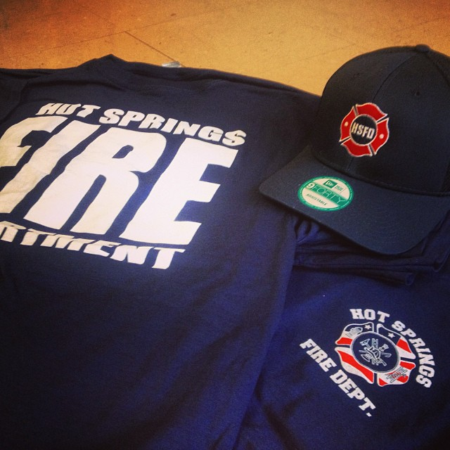 Matching Embroidered Caps for HSFD
