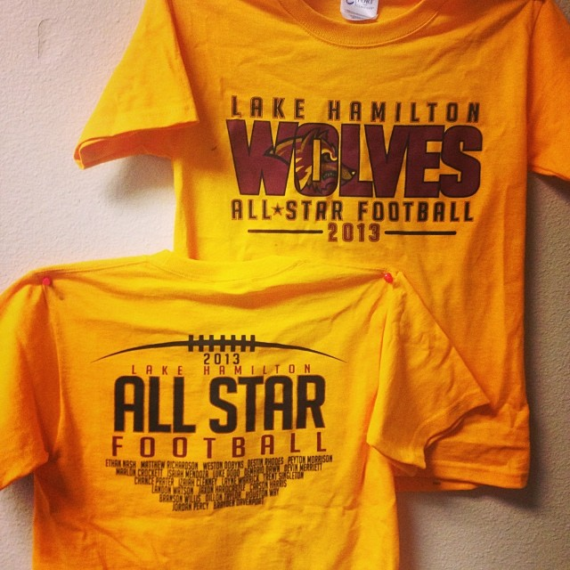 Lake Hamilton All Stars Parent Shirts