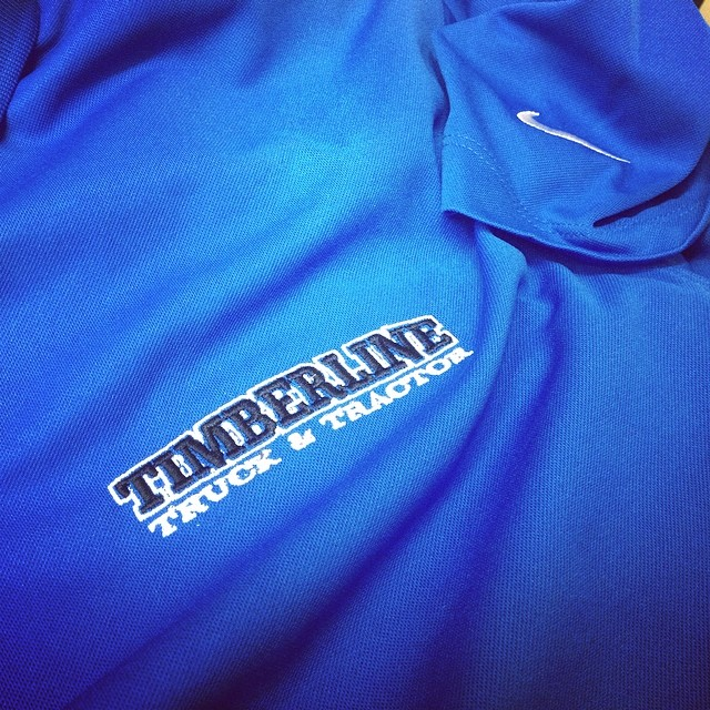 Nike Polos for Timberline Truck and Tractor